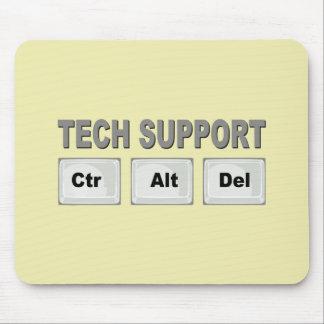 Tech Support Ctr Alt Del Mouse Pad