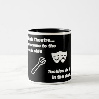 Tech Theatre Two-Tone Coffee Mug
