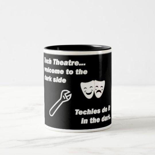 Tech Theatre Two-Tone Coffee Mug