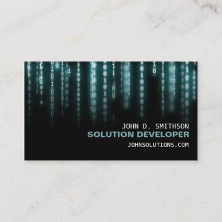 Tech Wiz Business Card