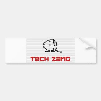 Tech Zang Bumper Sticker Car Bumper Sticker