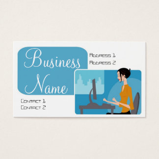 Techie Diva Business Cards