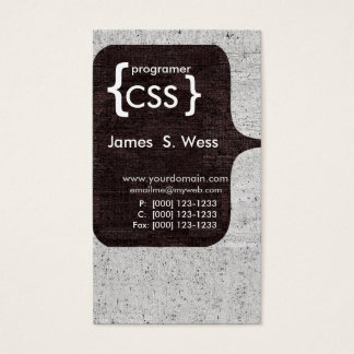 Techie Modern CSS  Computer Software Developer