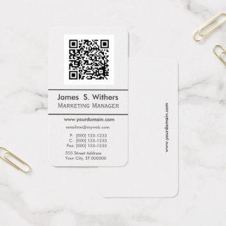 Techie Modern Minimalist QR Code  Photo / Logo