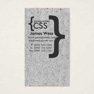 Techie Vintage Geek Web Designer CSS Computer