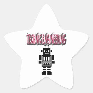 Technic Engineering Sticker