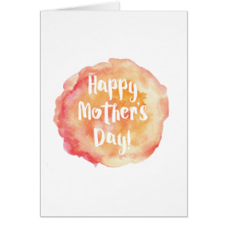 Technical Assistance Mother's Day Card
