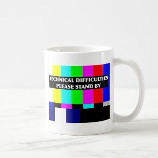 Technical Difficulties Basic White Mug