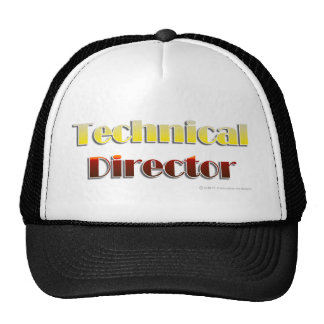 Technical Director (Text Only) Cap