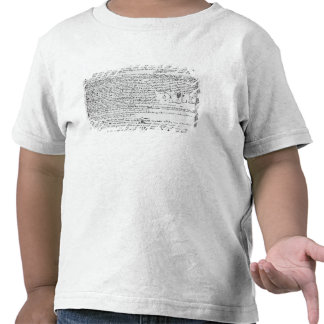 Technical drawings shirt