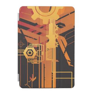 Technical halftone background iPad mini cover