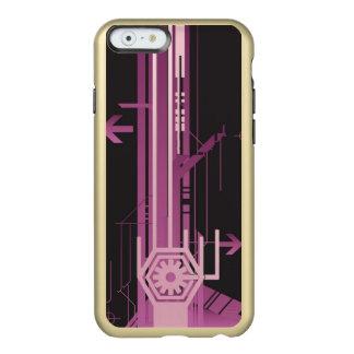 Technical halftone pattern incipio feather® shine iPhone 6 case