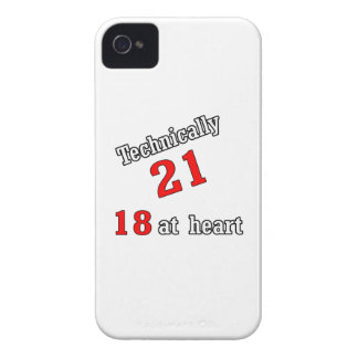 Technically 21, 18 at heart iPhone 4 covers