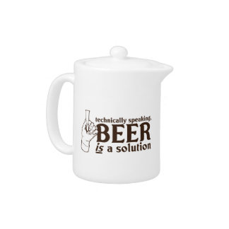 Technically Speaking, Beer is a solution