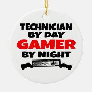 Technician Gamer Christmas Ornament