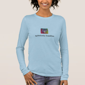 technicolor freedom long sleeve T-Shirt