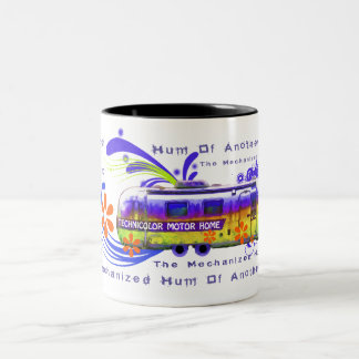 Technicolor Motor Home Big Mug