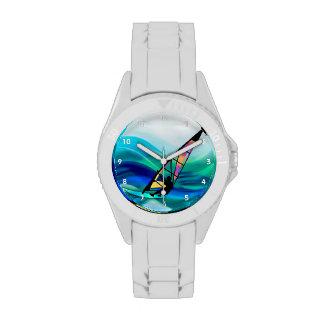 Technicolor Windsurfer in a Typhoon Wrist Watches