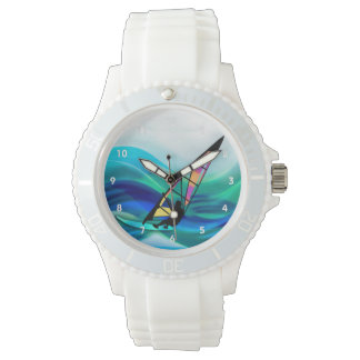 Technicolor Windsurfer in a Typhoon Wristwatch