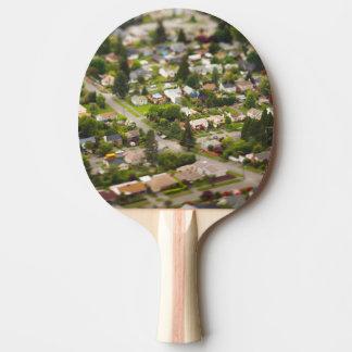 Technique #1- tilt/shift lenses ping pong paddle