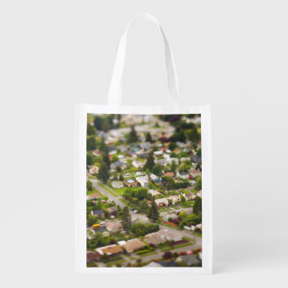 Technique #1- tilt/shift lenses reusable grocery bag