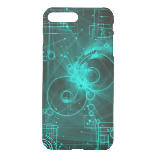 techno abstract art iPhone 7 plus case