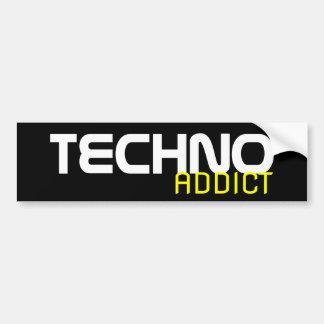 Techno Addict Bumper Sticker
