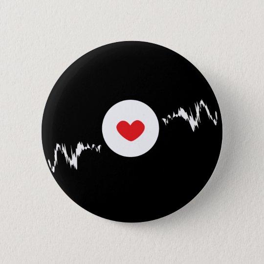 Techno Addicted 6 Cm Round Badge