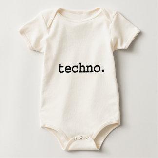 techno. baby bodysuit