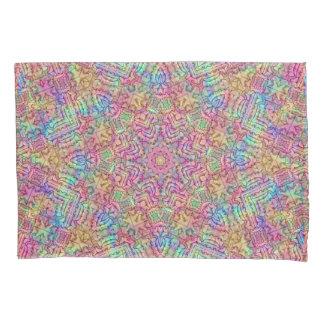 Techno Colors Vintage Kaleidoscope Pillowcases