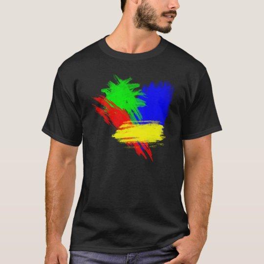 Techno Colours. T-Shirt