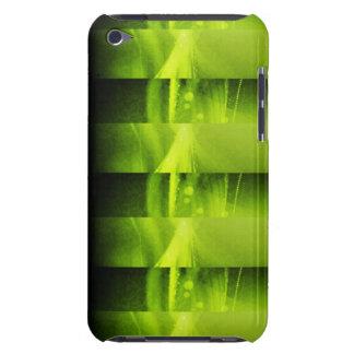 Techno Green I-Pod Case iPod Touch Cover