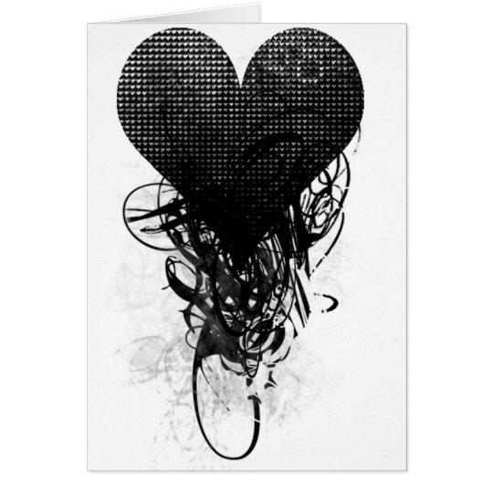 Techno Heart Card