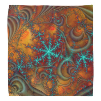 Techno Psychedelic Fractal Bandanna
