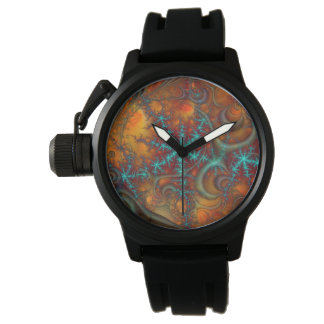 Techno Psychedelic Fractal Watch