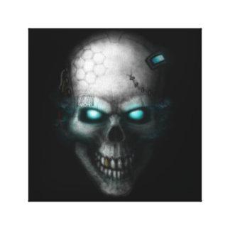 Techno-Skull 2017 Canvas Print