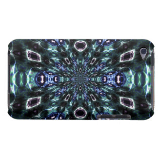 Techno Star Burst Fractal Abstract Energy iPod Case-Mate Case