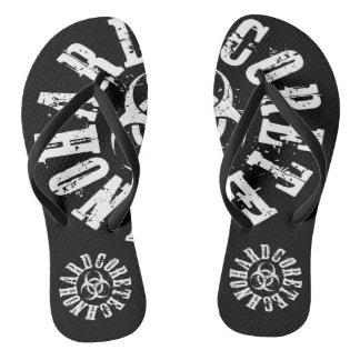Techno Streetwear - Hardcore Techno  - Flip Flops