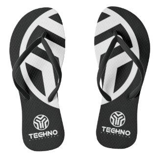 Techno Streetwear - Logo - Flip Flops