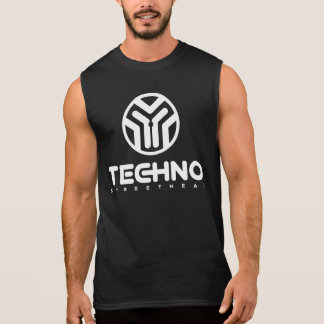 Techno Streetwear - Logo - Mens Sleeveless Shirt
