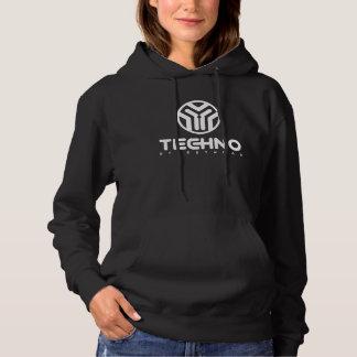Techno Streetwear - Logo - Womens Hoodie