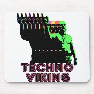 Techno Viking Mouse Mat
