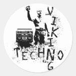 Techno Viking Sticker