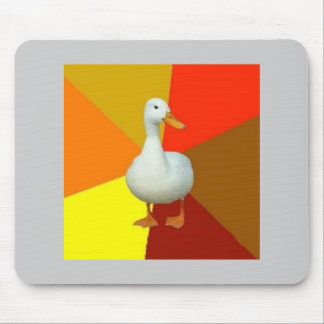 Technologically Impaired Duck Advice Animal Meme Mousepad