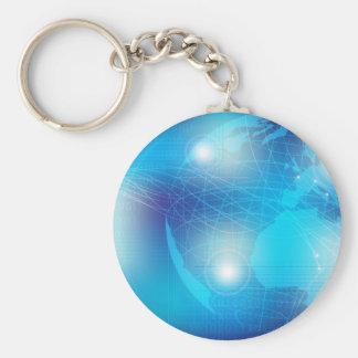Technology - Background Key Ring