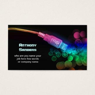 technology business card
