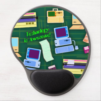 Technology can be Awesome Gel Mouse Mat