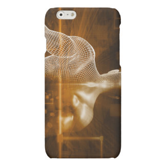 Technology Network with Futuristic Graph Chart iPhone 6 Plus Case