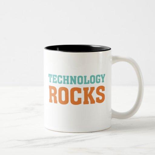 Technology Rocks Coffee Mugs