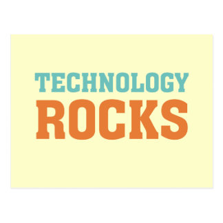 Technology Rocks Postcard